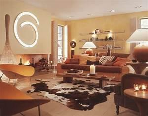 Gemütliche Wohnzimmer Farben : warme wandfarben wohnzimmer ~ Markanthonyermac.com Haus und Dekorationen