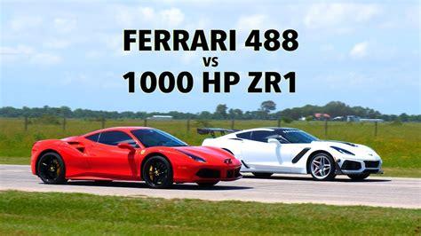 2020 c8 corvette (hennessey stainless steel exhaust, lightweight wheels with hoosier race tires) and a bone stock c7 stingray. HD Wallpaper 2020: 2020 Corvette C8 Vs Ferrari