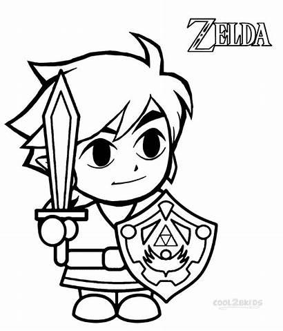 Zelda Coloring Pages Sword Skyward Printable