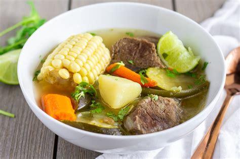 Instant Pot Caldo De Res- Mexican Beef Soup