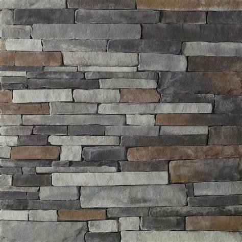 glen gery landmark stone   chisel gray stackstone