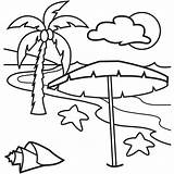 Coloring Tropical sketch template