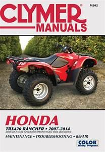 Honda Trx420 Rancher Atv  2007