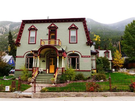 Victorian Houses of Georgetown, Colorado - Travel To Eat