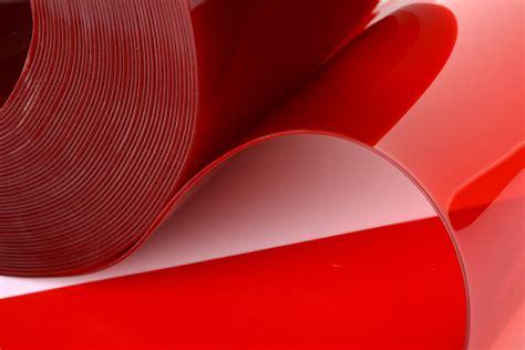 Transparent Red Pvc Strip For Denoting Hazard Areas