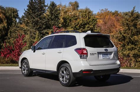 subaru forester cargo capacity gas mileage redesign