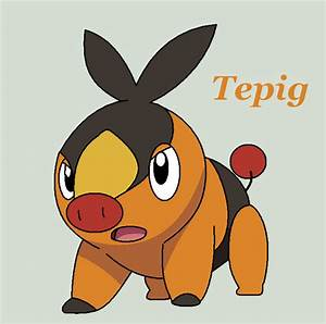 Tepig by Roky320 on DeviantArt