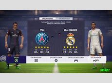 FIFA 18 REAL MADRID VS PSG OFFICAL GAMEPLAY FOOTGAE