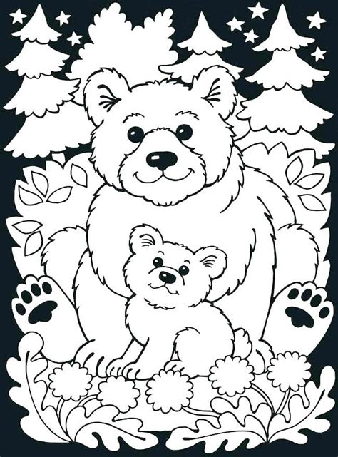 image result  forest animals coloring pages color pages  bear coloring pages animal