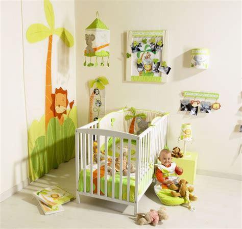 modele chambre bebe exemple deco chambre bebe garcon jungle nature et