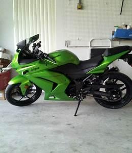 2012 Kawasaki Ninja 250R Candy Lime Green Limited Edition