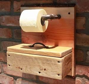 Wc Rollenhalter Stehend : toilettenpapierhalter wc papier rollenhalter holz box f r feuchtt cher in m bel wohnen ~ Whattoseeinmadrid.com Haus und Dekorationen