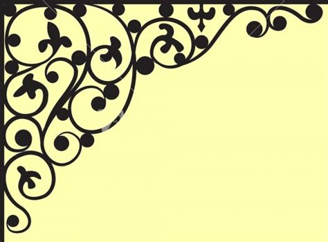corner vectors jpg vector eps ai illustrator