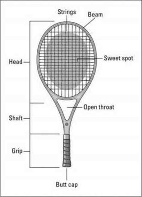 choosing  tennis racquet dummies
