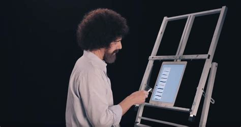 Adobe Digs Up Bob Ross's Grave To Promote Photoshop