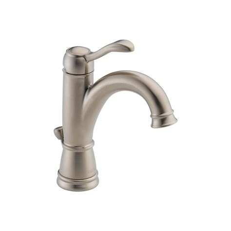 Brushed Nickel Bathroom Faucets Delta by Faucet 15984lf Bn In Brushed Nickel By Delta