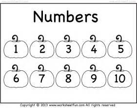 Numbers 1 10 Printable - Laptuoso