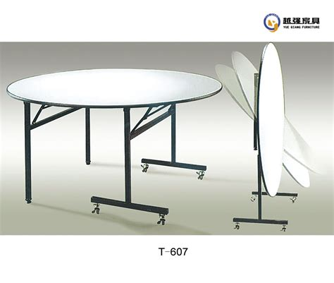 used foldable folding dining banquet table for