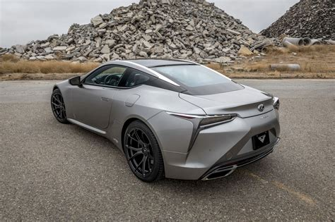 Lexus Lc Photo by Solid Gray Lexus Lc Boasting A Set Of Matte Black