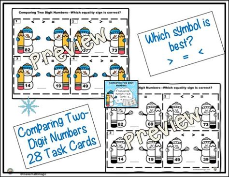 comparing  digit numbers    images
