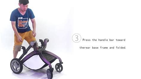HOT MOM Baby Stroller Folding Operation Video YouTube