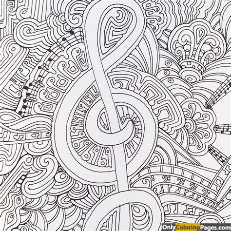 zen art musical coloring pages  printable  zen