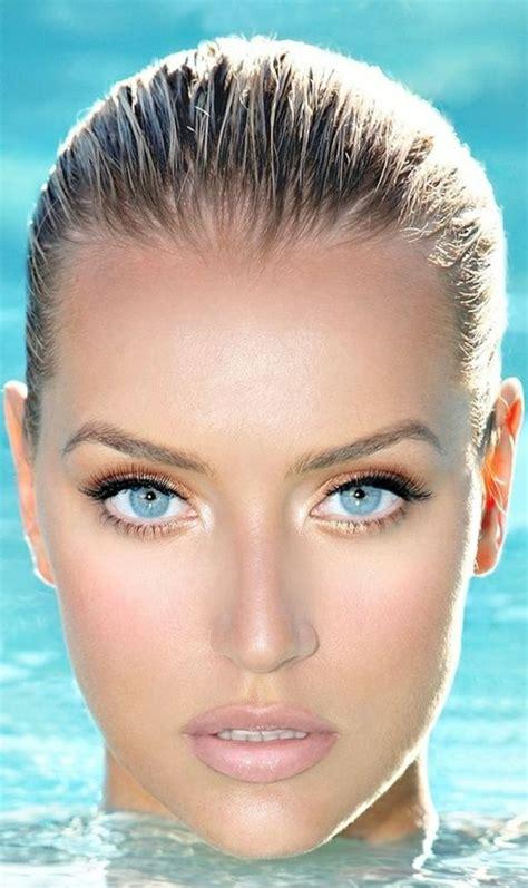 leichte schminke die besten 25 haare blaue augen ideen auf