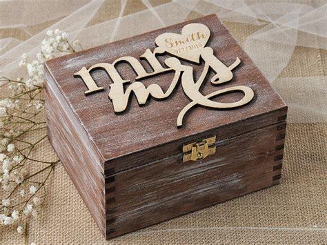 rustic ring bearer box heart wedding from forlovepolkadots