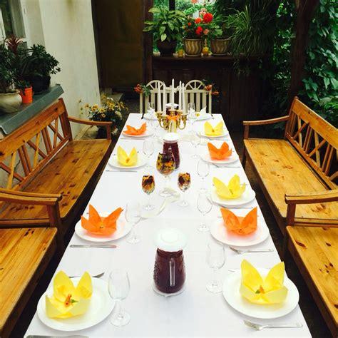 Baltā māja! | Table settings, Table