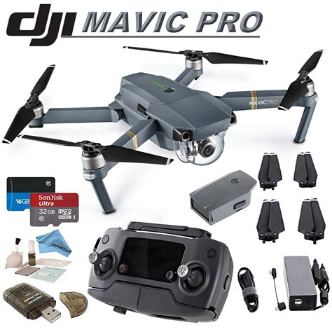 dji mavic pro mini rc quadcopter gray mavic pro  cn