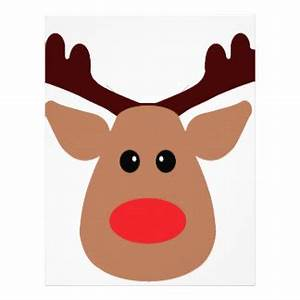 best photos of reindeer face template rudolph reindeer With rudolph the red nosed reindeer template
