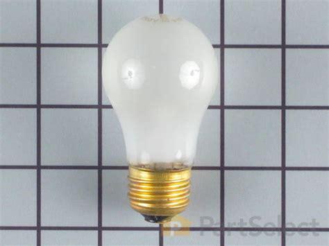 whirlpool  refrigerator light bulb   partselect