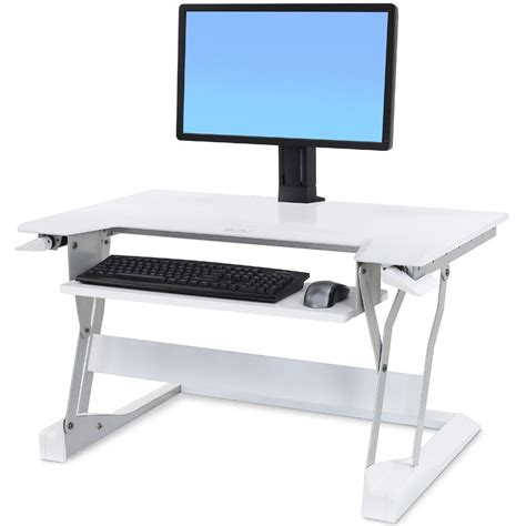 ergotron sit stand desk mount sit stand 33 397 062 ergotron workfit t desktop workstation