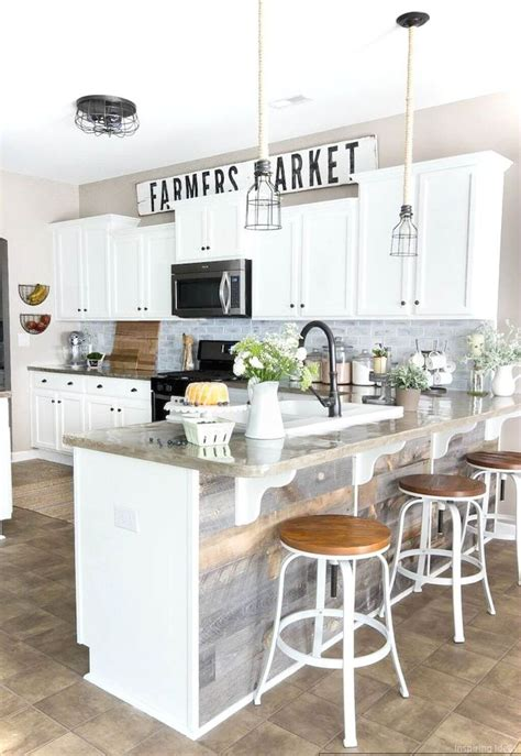 kitchen ideas 35 best farmhouse kitchen cabinet ideas and designs for 2018 Farmhouse