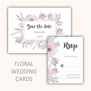 floral wedding cards set vector free download With wedding cards with photo editing