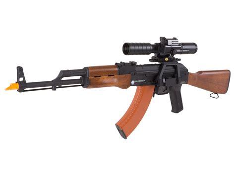 cybergun kalashnikov akm aeg airsoft rifle kit airsoft guns
