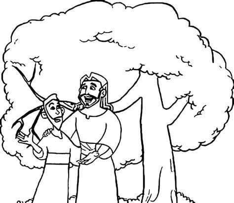 zacchaeus talking jesus coloring page wecoloringpagecom