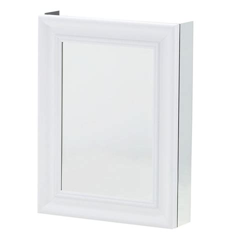 recessed mount medicine cabinet pegasus 20 in w x 26 in h framed recessed or surface