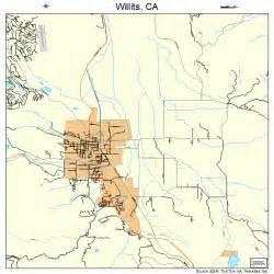 Willits California Map
