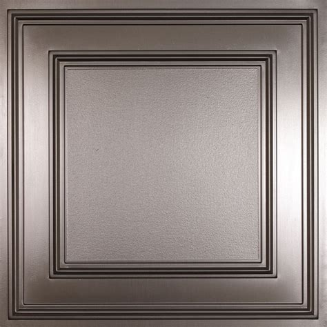 tin ceiling tiles home depot canada ceilume cambridge faux tin ceiling tile 2 x 2