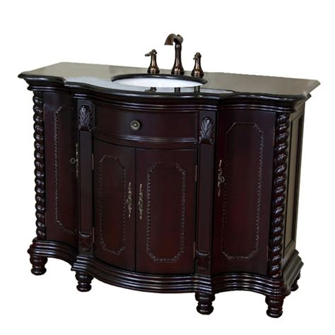 vanity with top 48 inch single sink bath vanity with choice of top