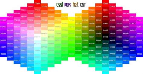 hexidecimal color psychology colors infographic cool hex color codes