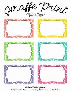 preschool name tag templates - best 25 printable name tags ideas on pinterest