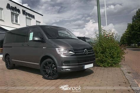 vw t6 multivan highline vw t6 highline multivan brock b32 skm brock alloy wheels