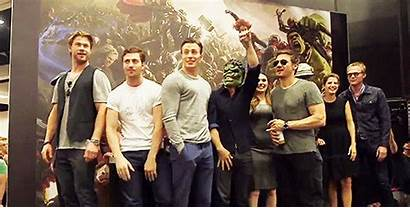 Cast Avengers Marvel Evans Chris Age Ultron