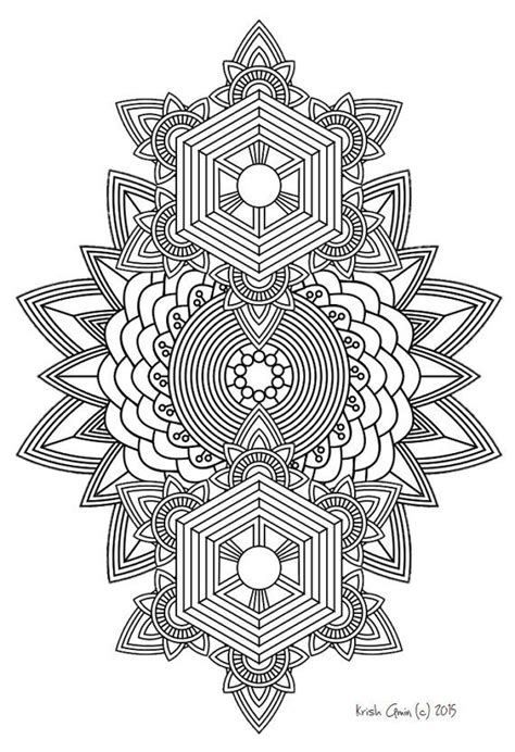 Doodling Kleurplaten by 108 Printable Intricate Mandala Coloring Pages Instant