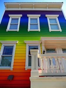 05, 07, 08, Rainbow, House, On, Clipper, St