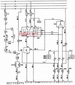 The Principle Signal Circuit Of Daewoo Racer