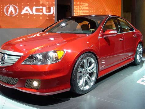 Acura Forums by 2005 Acura Rl A Spec From Ny Auto Show Acura Forum