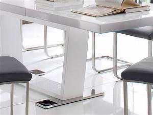 Tisch Weiß Rund Ausziehbar : esstisch ausziehbar 160 240 x90x76cm tisch hochglanz weiss auszugstisch magno ebay ~ Bigdaddyawards.com Haus und Dekorationen